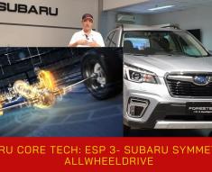 Subaru Symmetrical AllwheelDrive